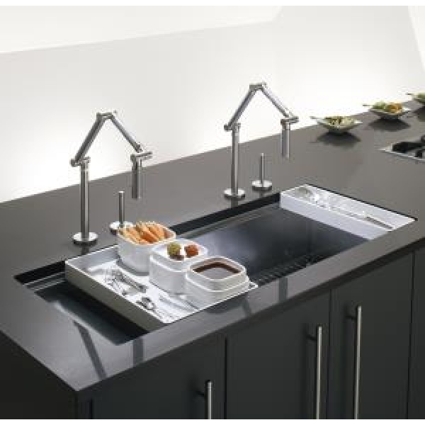 Kohler Stages Single Bowl And Drainer Undermount Kitchen